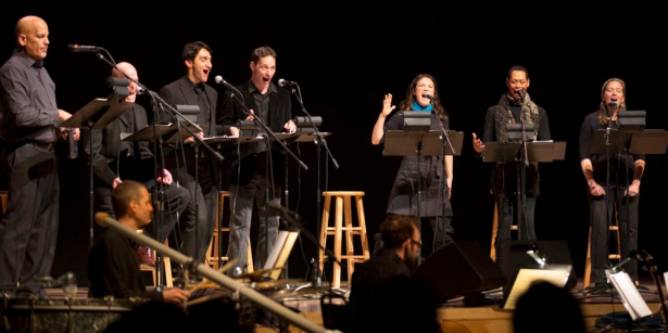 Staged reading of COAL: Fable of the Firerock at The Lensic, February 2013