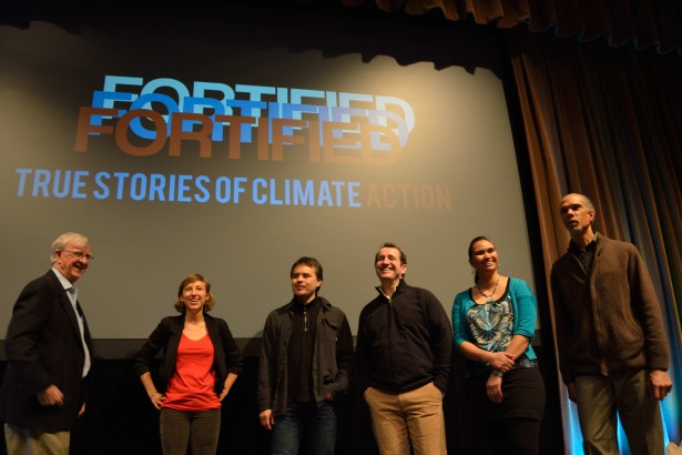 L to R: Al Jubitz, Camila Thorndike,  Micah McCarty,  Paul Rummell, Virginia Luka, Greg Wolley.  Photo courtesy of Climate Solutions.